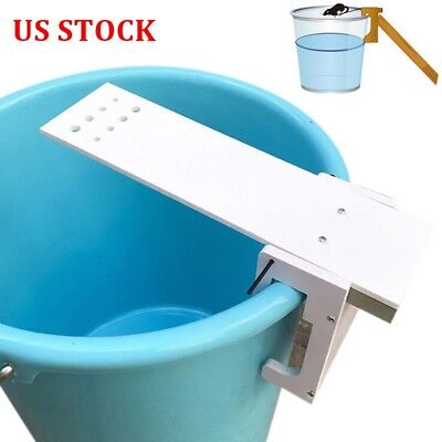 Bucket Walk Plank Mouse Trap Rodent Auto Rat Reset Pest Killer Home Kitchen Hot