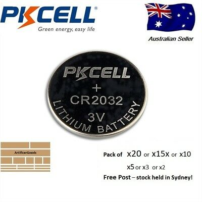 CR2032 lithium button coin cell battery 3v Free Post Sydney Local