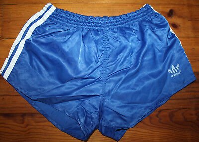 SHORTS  ADIDAS Sprinter Glanz Nylon  80er Jahre Made in West Germany Gr. D5=S/M