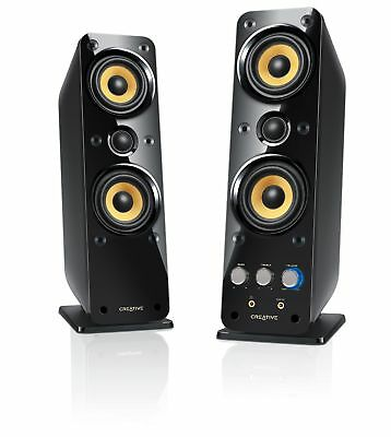 Creative GigaWorks T40 Series II 2.0 Multimedia Speaker System with BasXPort ...