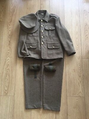 Kids WW1 Uniform Historically Accurate (Age 11-13)