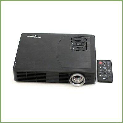Optoma ML500 dlp digital projector - unknown lamp hours - b grade & warranty