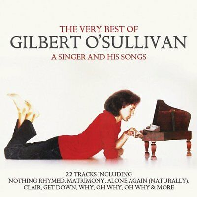 Gilbert O'sullivan The Very Best Of A Singer And His Songs Cd (Greatest Hits)