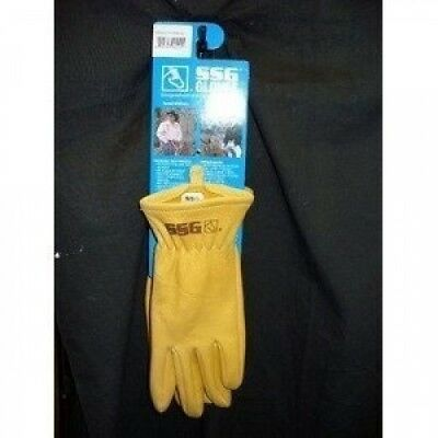 Ssg Glove Horse Riding Leather Show Gloves Tack Tan 11. Shipping Included