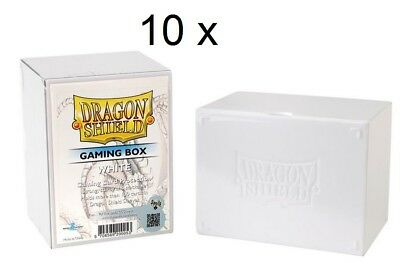 10 x Dragon Shield Gaming Box deckbox boîte de rangement pour 100+ cartes 200053