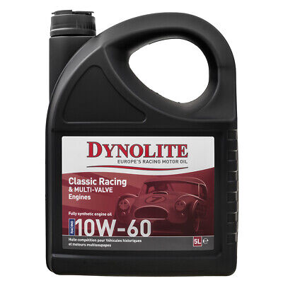 Dynolite Oil 5 litre 10W60 Engine Fully Synthetic - High Performance Engines