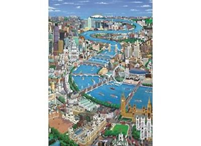 London The Thames 500 Piece Wentworth Wooden Puzzle Free 2day Ship