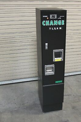Rowe BC-1200 $ bill changer machine for Laundromat, Car Wash, etc.  Tested Good