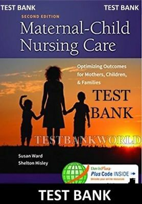 Test bank maternal child nursing care 5th edition london ladewig test bank maternal child nursing care 2nd edition by susan ward pdf fandeluxe Gallery