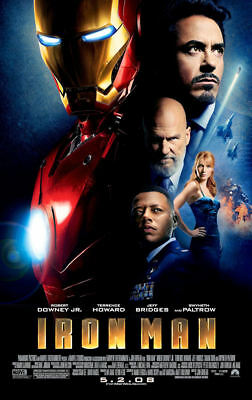 "Iron Man ( 11"" x 17"" ) Movie  Collector's  Poster Print  ( T2 )-   B2G1F"
