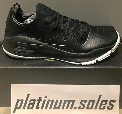 6dd5125d1109 UNDER ARMOUR CURRY 4 Low Black 3000083 004   brand New In Box ...