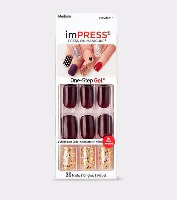 imPRESS Nails FORBIDDEN Medium Künstliche Fingernägel Press-On Kiss/Broadway