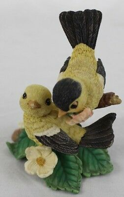 Goldfinch Finch Bird Figure Flowered With Love Garden Romances Are Forever 1996