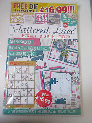 Tattered Lace Magazine Issue no. 41 - Die Cut included