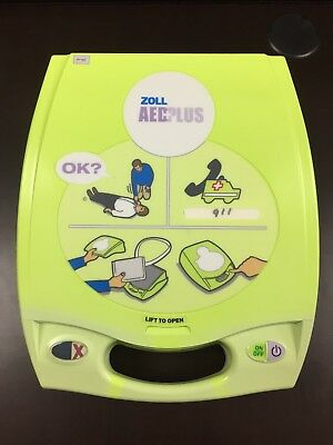 Zoll AED Plus - New Case, New Batteries and New Pads - Recertified