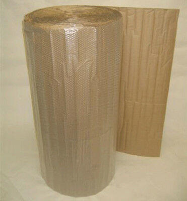 "3/16"" Small Bubble Cushioning Wrap w/ a Kraft Liner.  48"" Wide x 250' Long."