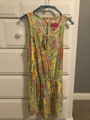 e5578623cc3 Lilly Pulitzer for Target Women s Challis Romper Happy Place Print Size  Small