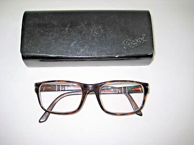 0aea62398cf Persol Tortoise Eyeglasses Frames Glasses Lens Made In Italy 3007-V 24 50
