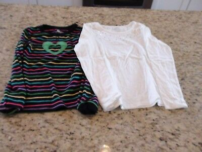 Women's Clothing Mixed Items & Lots **lot Of 2 Long Sleeve Shirts** Mudd And Rue21* Great Used Condition