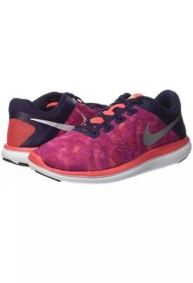 san francisco b37ac 88868 Nike Flex 2016 RN Print (GS) 845029-502 Girls Running Shoes Youth 5.5