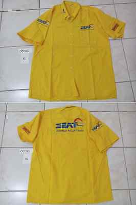 Chemise Occasion Used Shirt Seat Sport World Rally Team Pirelli Taille Xl Size