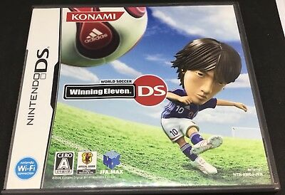 Winning Eleven For Japanese DS  USA SELLER  Plays In Japanese 67a398b016ea7