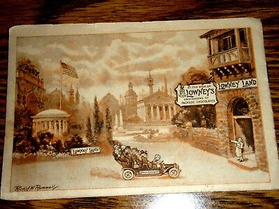 Vintage Lowneys Chocolate Pictures, Litho, Book, Advertising, Lowney Land, RARE