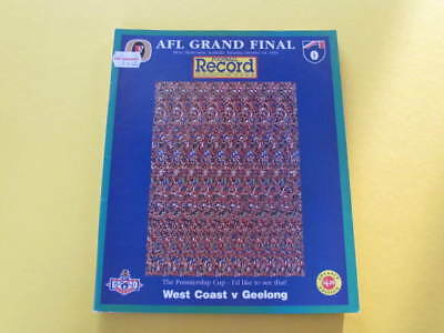 1994 AFL Grand Final Football Record West Coast v Geelong