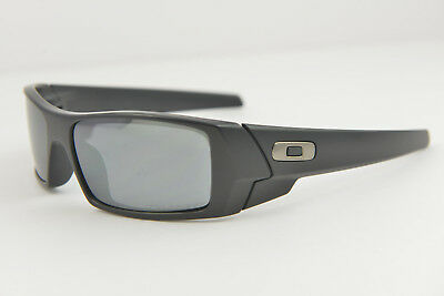 Oakley Gascan Matte Black Black Iridium Polarized Sunglasses  12-856 60-15 318ac12d83