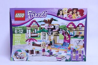 Lego Friends Heartlake City Pool 41008 No Box Believed Complete