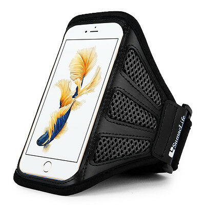New Black Outdoor Gym Sports Running Case Cover Armband For Samsung Galaxy S8
