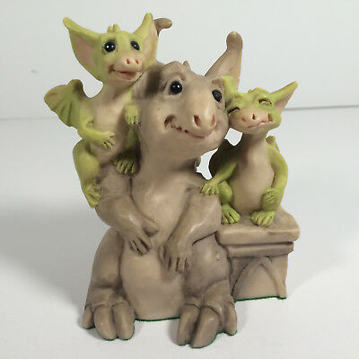 "1991 Whimsical World of Pocket Dragons ""Friends"" Real Musgrave Figurine"