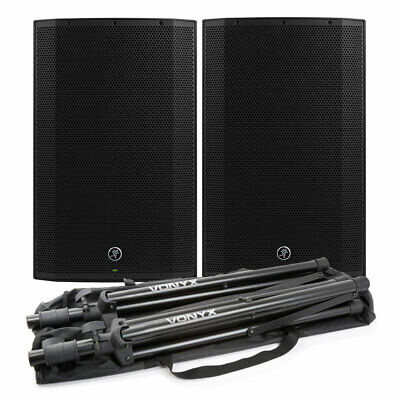 Mackie Thump 15A2 Pair Active Speakers 1300W with FREE Stands