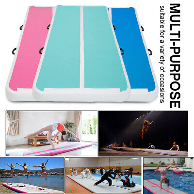 Inflatable Gym Airtrack Air Track Tumbling Floor Home Gymnastics GYM 6 Color Mat