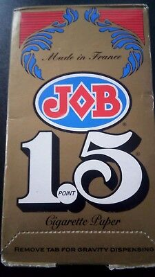 JOB 1.5 rolling papers 24 Booklets