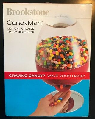Brookstone Candyman Motion Activated Candy Dispenser, NIB Party Accessory