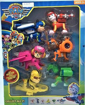 Paw Patrol 12cm Action Figures Pack Rescue Team Pack of 6 Playset