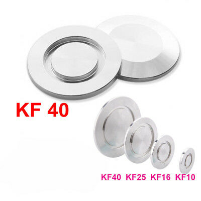 2PC KF-40 Vacuum , Blind Flange Cap, Vacuum Fitting,Stainless Steel Stopper