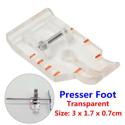 1/4'' Quilting/Patchwork Transparent Presser Foot For Low Shank Sewing Machine