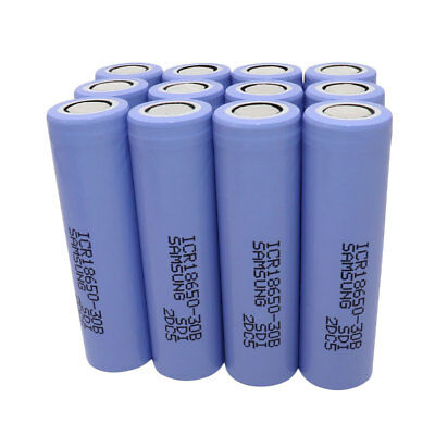 18650 ICR 3000mAh High Drain Battery 3.7V Li-ion Rechargeable 35A for Vape Smok