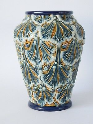 Early 20Th Century Majolica Vase By Gerbing & Stephan