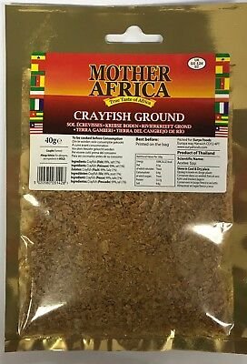 Mother Africa Dried Ground Crayfish 40g (Single Pack)