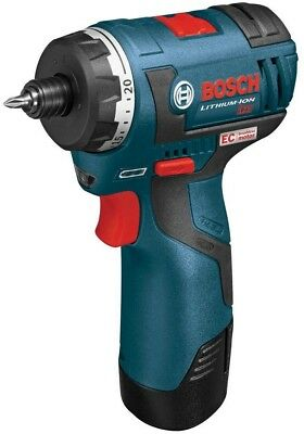 Bosch Power Drill 1/4 in. Hex Chuck 12 Volt Lithium-Ion 2-Speed Cordless