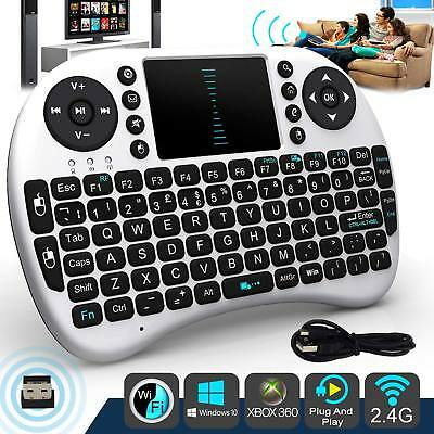 Mini Wireless Remote Tastatur Maus für Samsung LG Smart TV Android TV Box