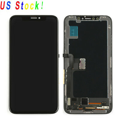 For iPhone X 10 OLED LCD Display Screen Touch Digitizer Assembly Replacement USA