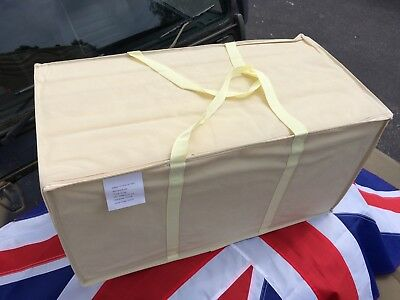 BRAND NEW British Army FOLDING MATTRESS for Camp Cot Bed with Carry Case Camping