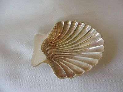 CLASSIC Tiffany & Co Sterling Scalloped Shell NUT Dish CANDY DISH OR SALT CELLAR