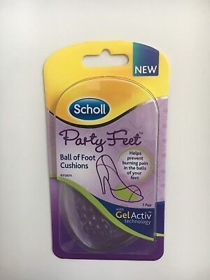 Scholl Party Feet With Gel Activ Technology.ball Of Foot Cushions