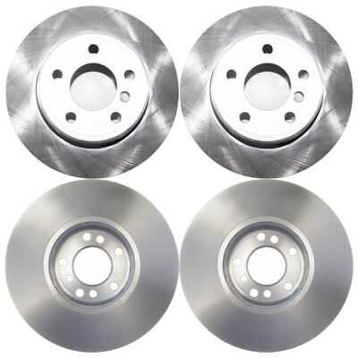 SET OF 4 PREMIUM NEW BRAKE DISC ROTORS 2 COMPLETE PAIRS KIT fits FRONT AND REAR