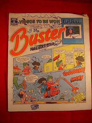The Buster Comic - 11th October 1986